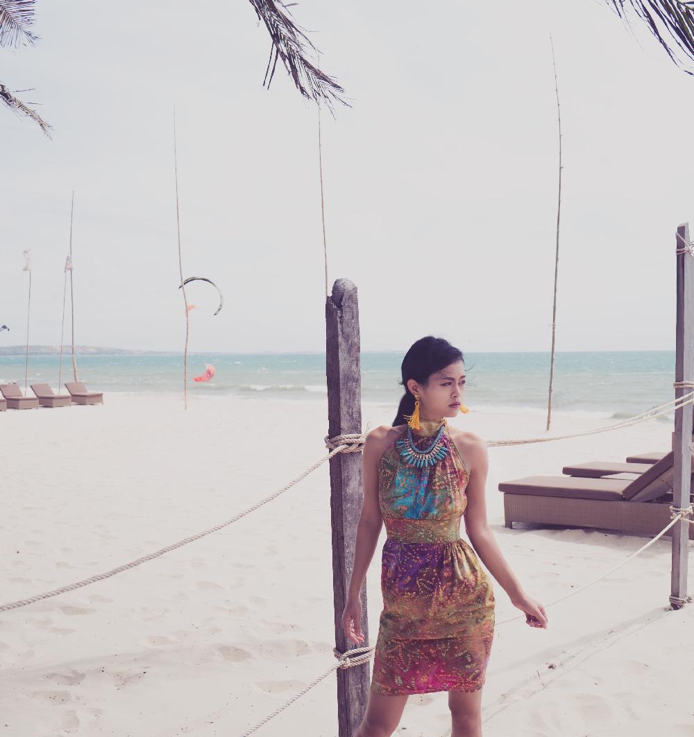 HerbertVictoria Batik Dress – Vietnam Resort
