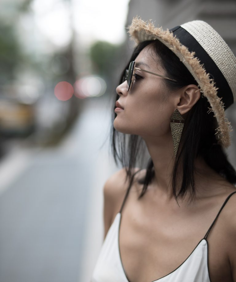 What to wear before summer ends. Summer straw hat