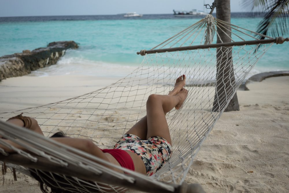 Outlanderly, Hammock, vacation, travel, Maldives