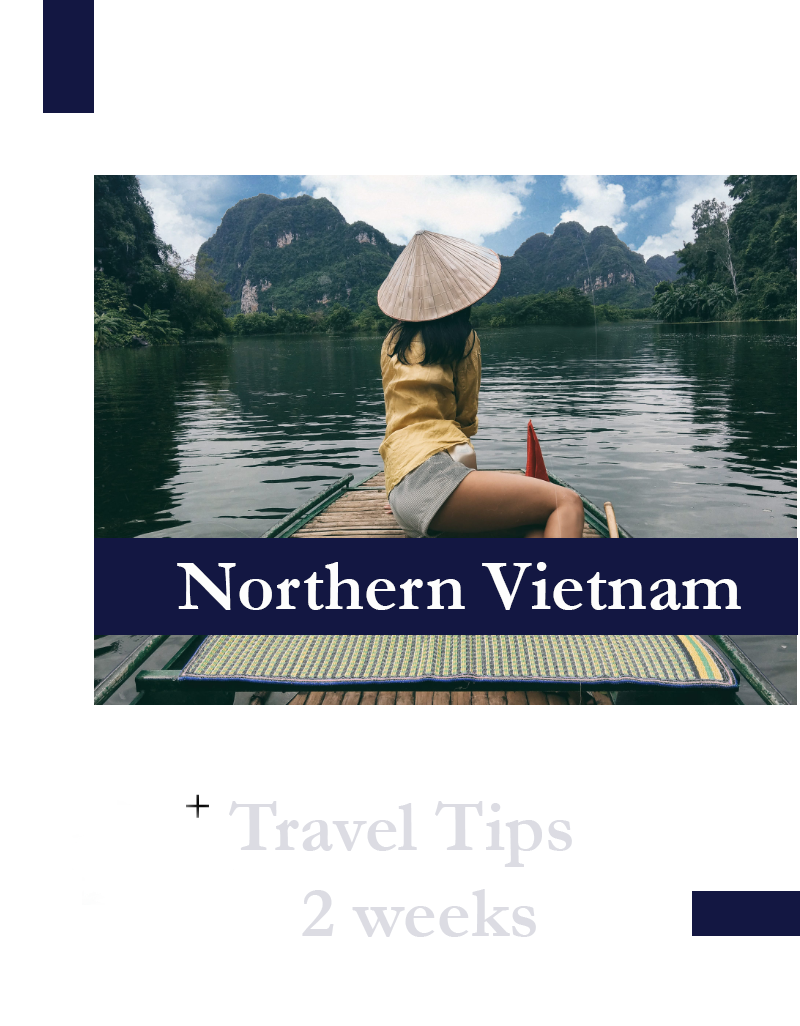 North Vietnam, Travel tips, outlanderly, info-graphics