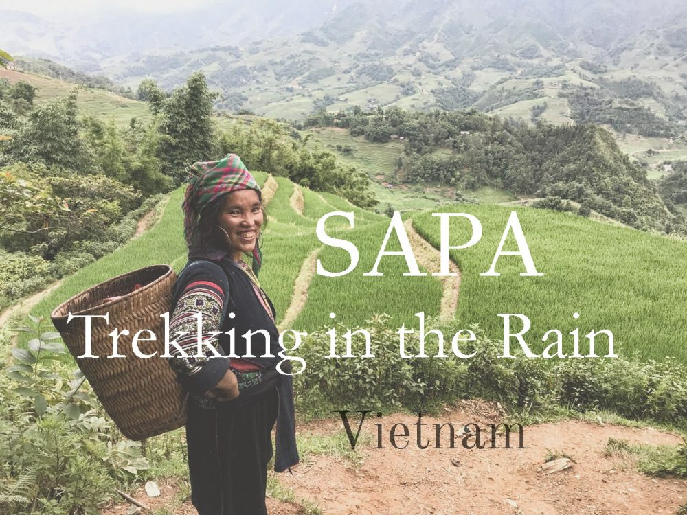 Sapa Trekking in the Rain