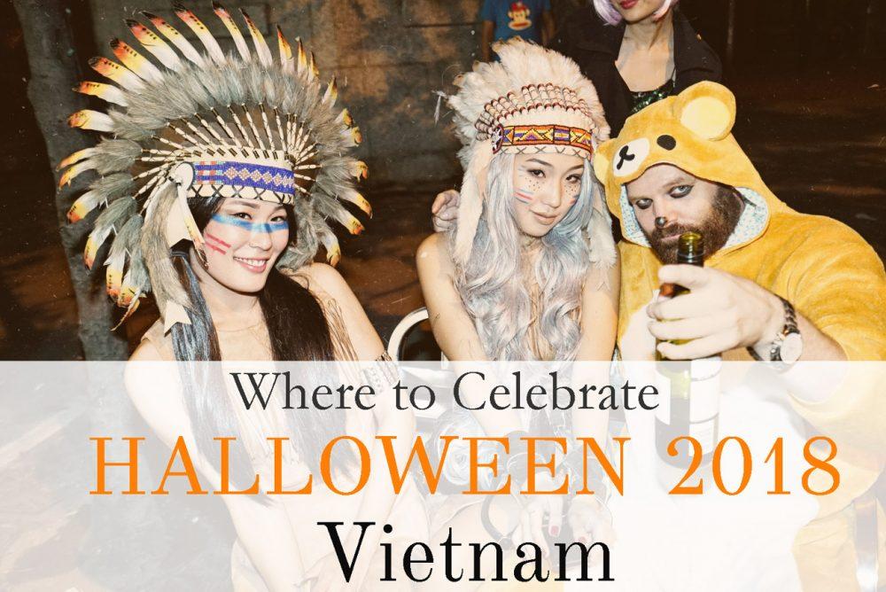 Halloween, Vietnam, 2018, Ho Chi Minh City, Da Nang