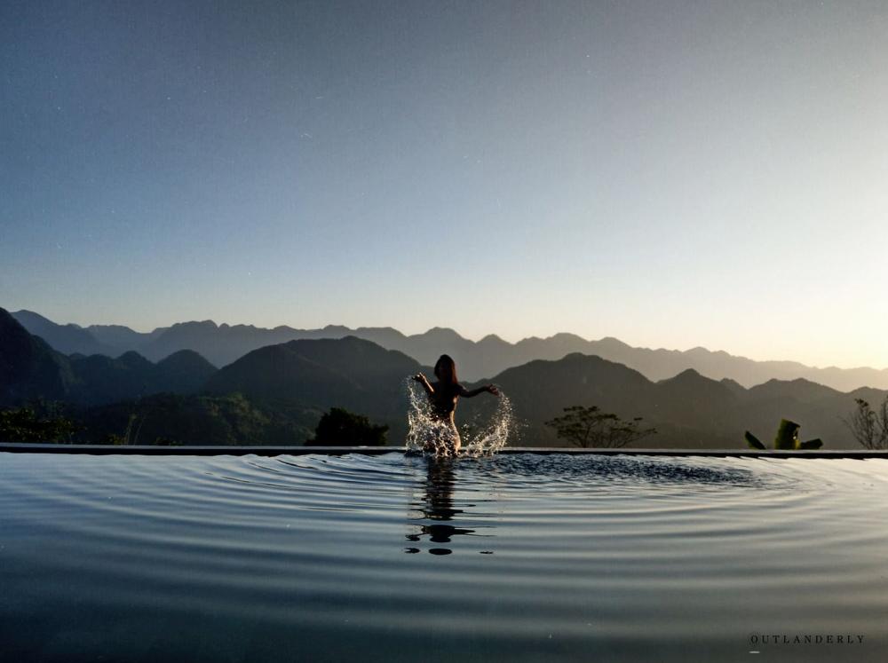 Pu Luong Eco GARDEN Infinity pool