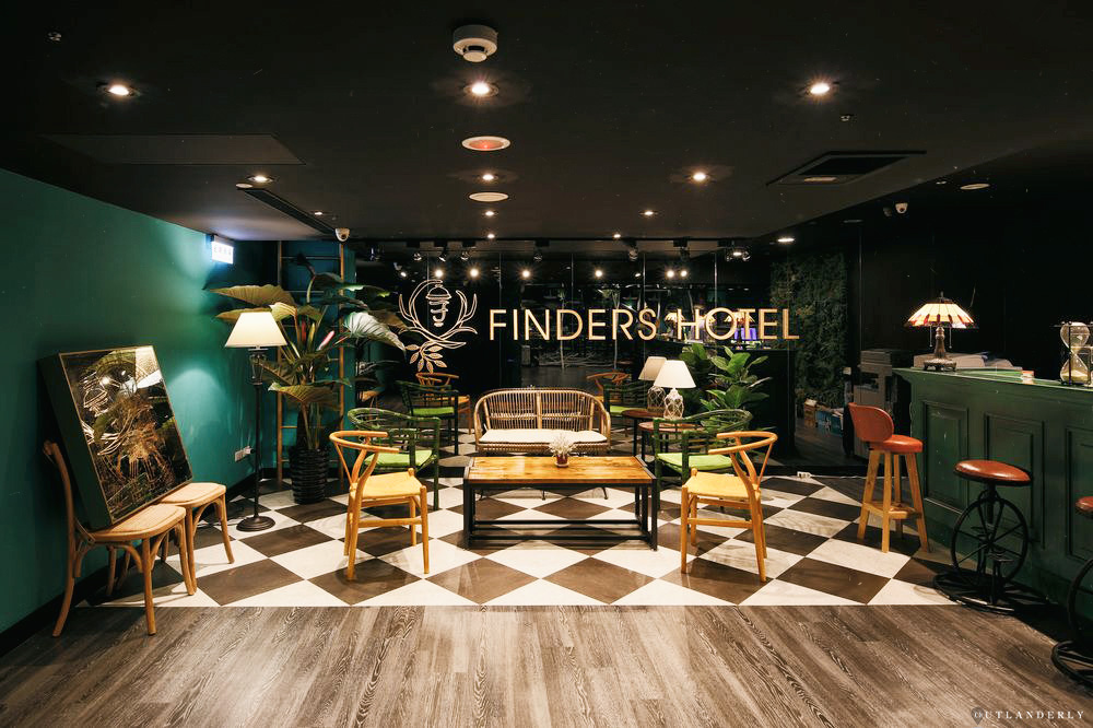 Finders Hotel Lobby Taipei