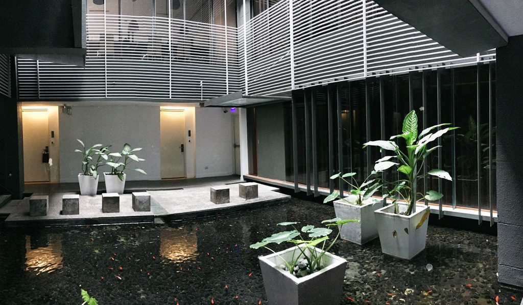 Hotel double one water garden Taipei