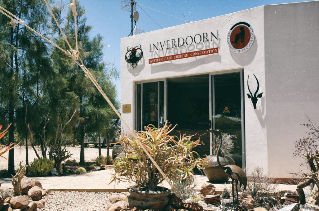 The front office of Inverdoorn reserve
