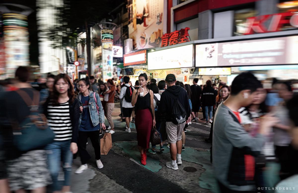 Ximen walking street