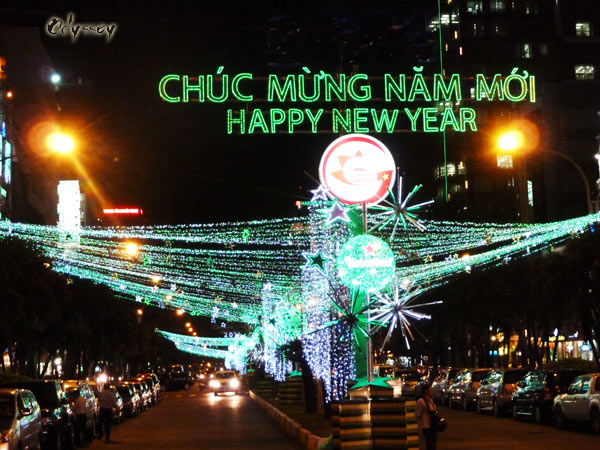 Chuc Mung Nam Moi Vietnamese sign