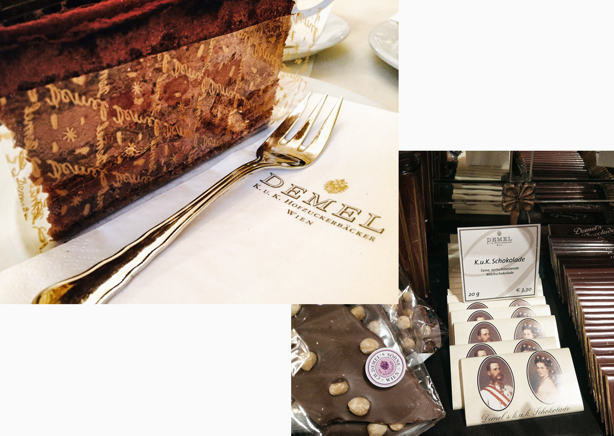 Demel's chocolate store